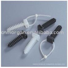 Lojas de fábrica não é fácil de envelhecer resistência à corrosão suporte de gravata de cabo
