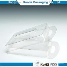 Embalagem de plástico transparente para parafuso
