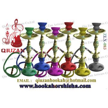 Fashionable Colorful Mini Hookah With Elephant Pattern Vase
