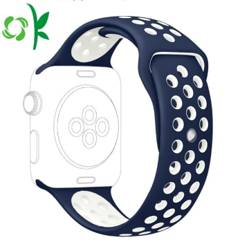 Custom Adjusted Wave Point Silikon Watch Sport Band