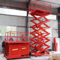 Resistencia a la corrosión Inground Car Scissor Lift Uso exterior