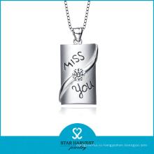 Принятый OEM 925 серебряные цепочки ожерелье Змея (Н-0216)