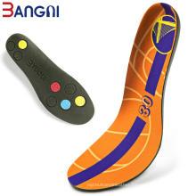 Basketball PU Foam Soft sport shoe pad insoles