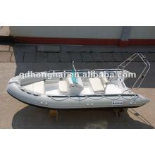 RIB boat CE speed boat pvc fishing boat