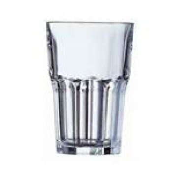 Clear Glass Juice Cup with Customized Design (TMGC1605)