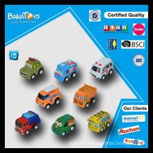 Lovely mini-brinquedo para crianças cartoon puxar modelo de carros de brinquedo