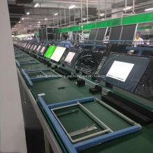 Línea de montaje de TV Línea de producción de cintas transportadoras