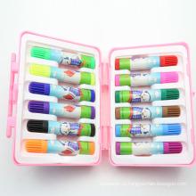 Горячая Продажа 12шт Цвет воды перо наборы для детей (ХL-1220)