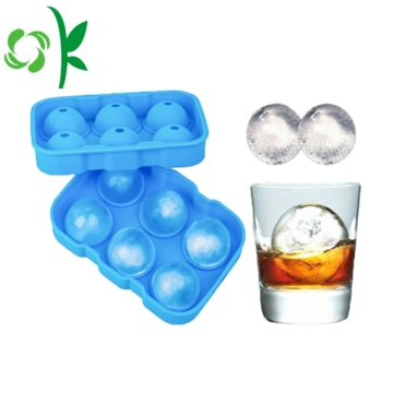 Silicone Sphere Ice Ball Cube Moules