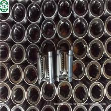 para el acoplador de la impresora de la máquina del CNC Tipo abierto de la jaula de acero Movimiento lineal que desliza el transporte Lm80uuop
