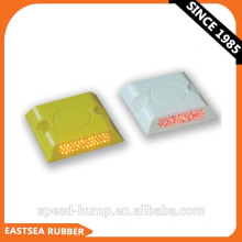 Preço de atacado Branco ou Amarelo 43Beads Durável Plástico Reflexivo Estrada Stud
