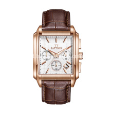 Rose gold PVD mewah mens watches