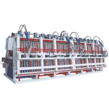 Wood Press Composer Tipo de setor de pressão de óleo