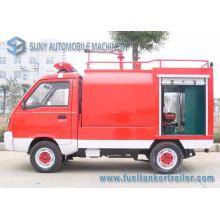 Camion de combat d'incendie de réservoir d'eau de Foton Mini 4X2 1cbm
