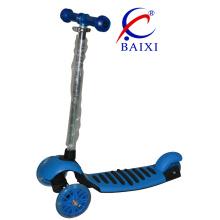 """""""Trotinette"""" de dobramento do pontapé das crianças de 3 rodas com cores diferentes (BX-WS002)"""