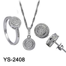 Серебряный медный набор ювелирных изделий Hotale Design (YS-1436, YS-1871, YS-2408, YS-2396, YS-2386, YS-2361, YS-2276)