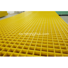 Car Wash Center Golvskydd FRP Grating 38x38mm