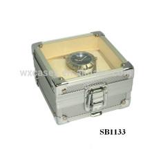 caixas de relógio de alumínio para único relógio