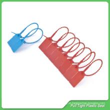 Selos de cinta plástica, 230mm comprimento, etiqueta de segurança de plástico, selos de segurança plástico