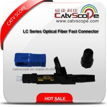 Connecteur rapide fibre optique série LC