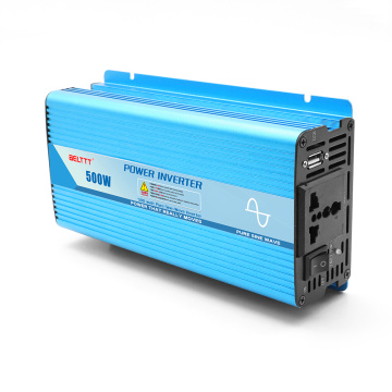 Persetujuan CE 500w Micro Car Power Inverter