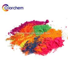 Fluoreszierendes Pigmentpulver