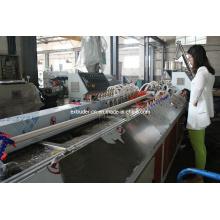 Sj-65/25 (YF-180) Planta de máquina de extrusión de PVC de perfil pequeño