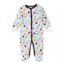 Le service d'OEM barboteuse bébé vêtements personnalisés à manches longues nouveau-né hiver bébé barboteuse onesie pour bébé