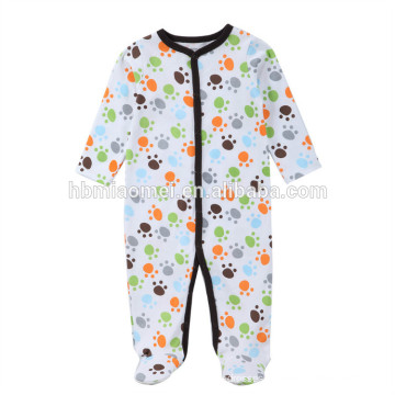 OEM service romper baby clothes customized long sleeve newborn winter baby romper onesie for baby