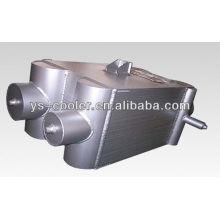 Placa de aluminio aleta separación de aire condensación evaporador equipo empresa