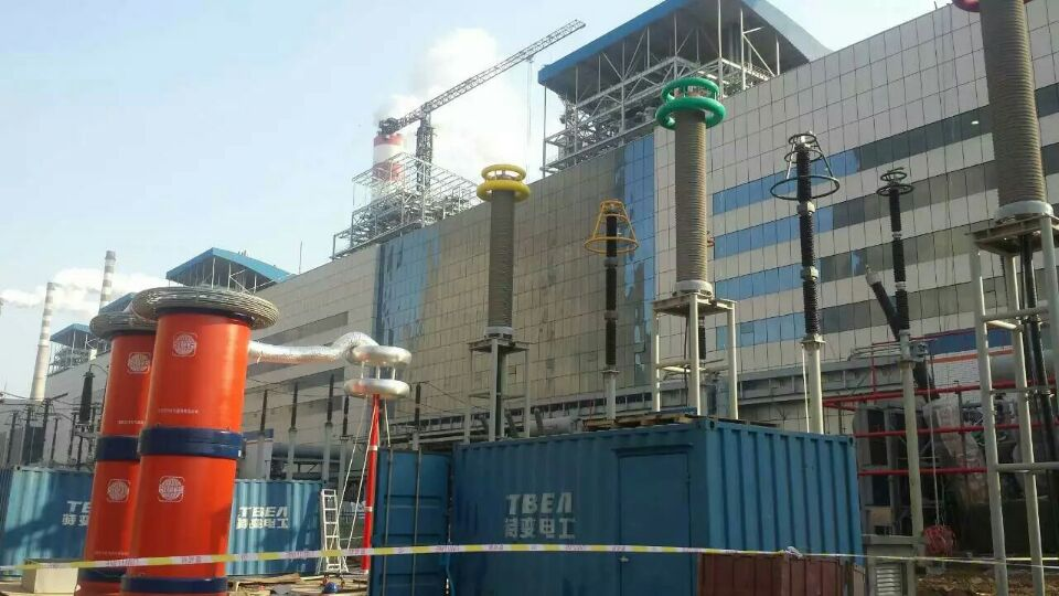 JOBSITE FOR 500KV XLPE CABLE AND ACCESSORIES SYSTEMS COMMISSIONG TEST