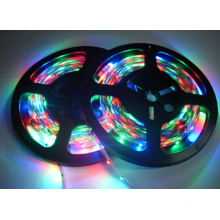Zhongshan waterproof 12V rgb flexible led strip light 4.4W/M