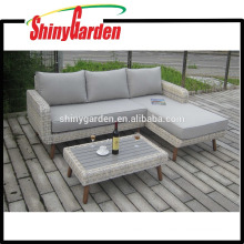 High Quality Rattan Wicker Alu. Sofa Set Furniture