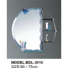 Miroir de salle de bains en verre argenté d'épaisseur de 5mm (BDL-2010)