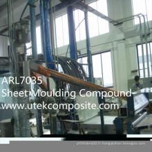 Ral7035 Composé de moulage de feuilles SMC pour réservoir d'eau