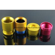 CNC Machining Aluminum Shell, Customized Make Flashlight Accessories