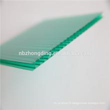 Prix de la feuille en polycarbonate double paroi de 4 mm