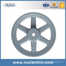 Venta caliente mejor precio gris polea de hierro fundido de fundición de china