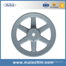 Hot Selling Best Price Grey Cast Iron Pulley From China Foundry