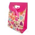 Бумажный пакет для покупок Цветные подарочные бумажные пакеты