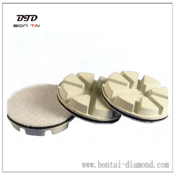 100mm Thick resin diamond polishing disc