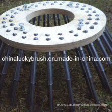 China Manufacturing PP Material Holzplatte Seitliche Maschine Bürste (YY-004)