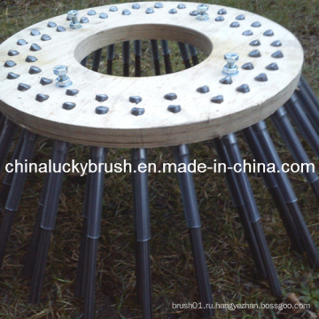 Китай Производство PP материала древесной плиты стороны машинной щетки (YY-004)