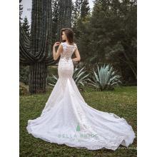 Latest bridal wedding gowns wedding dress fish tail bridal dress