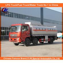 Caminhão líquido químico químico do transporte do caminhão de tanque 6X4 do líquido 3axles