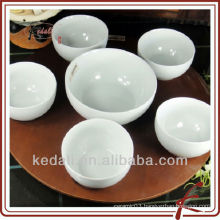 China Factory Wholesale White Ceramic Porcelain Dinner Set Sauce Dish