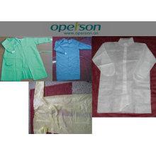 Одноразовые хирургические халаты с различными типами