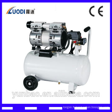 Réparation en gros de compresseur d'air portable de pompe de compresseur d'air portatif sans huile fabriqué en Chine