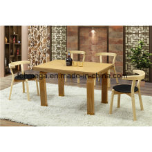 High End Solid Wood Table Set Restaurant Furniture (FOH-BCA64)