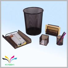 Büro Schule Schreibtisch Metall Mesh Briefpapier Set